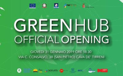 Innovazione, il Green Hub apre le porte con le scenografie di cartone