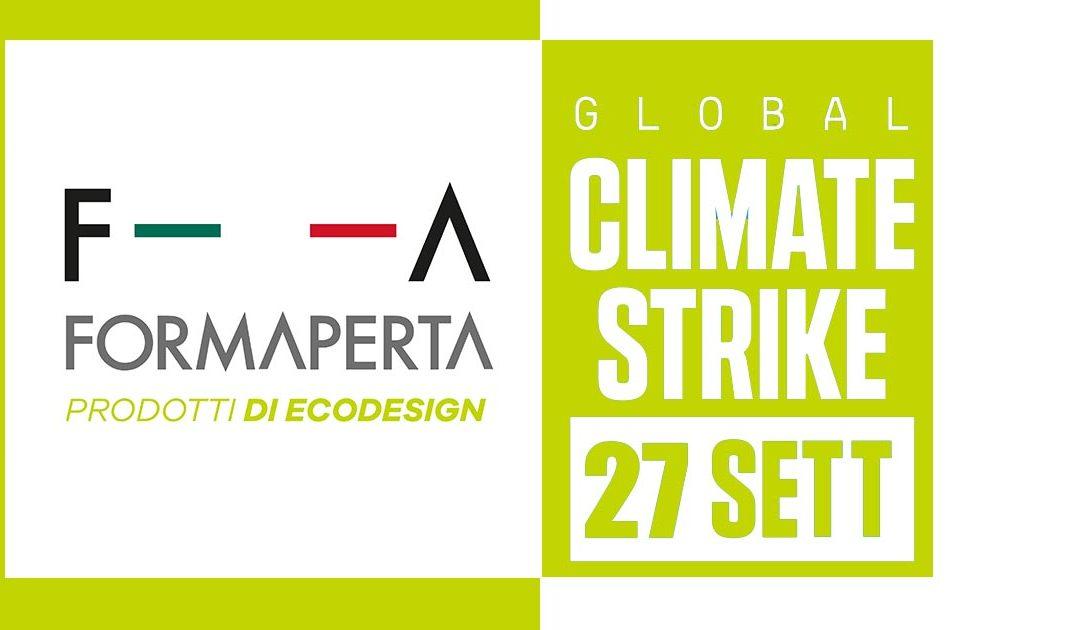 Formaperta con #GlobalClimateStrike dal 20 al 27 settembre