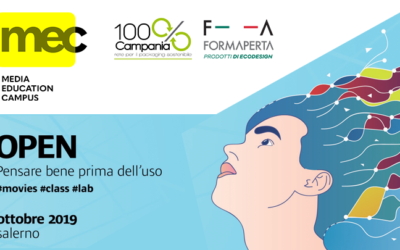 100% Campania e FormAperta – sponsor ufficiali del MEC – Media Education Campus